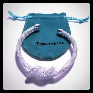 Tiffany Knot Mesh Bangle